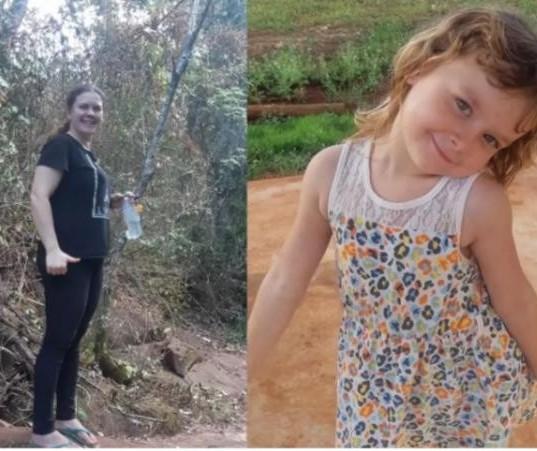Mãe e filha de 4 anos estão desaparecidas em Iguatemi, distrito de Maringá