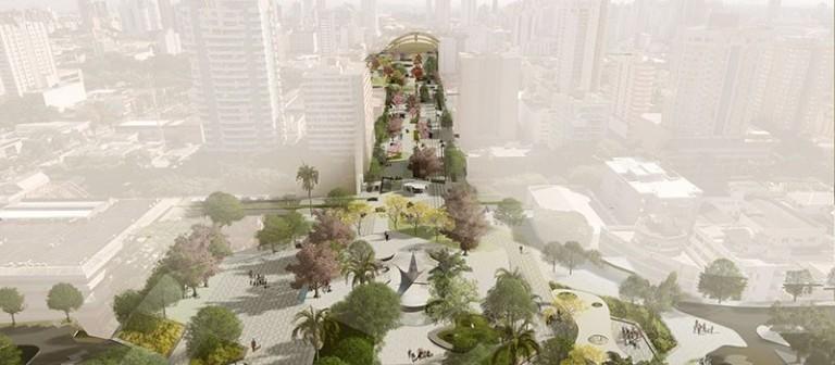 Restauração do Eixo Monumental está em fase de entrega de projetos, diz prefeito