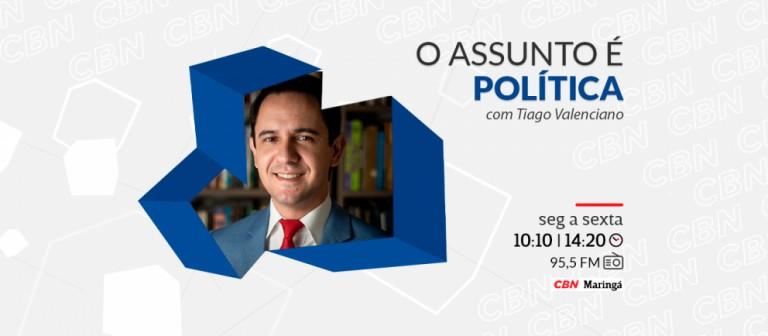 O Assunto é Política, com Tiago Valenciano, completa 1 ano no ar