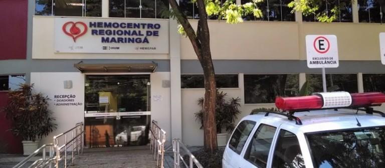 Dia Nacional da Doação de Sangue mobiliza doadores em Maringá
