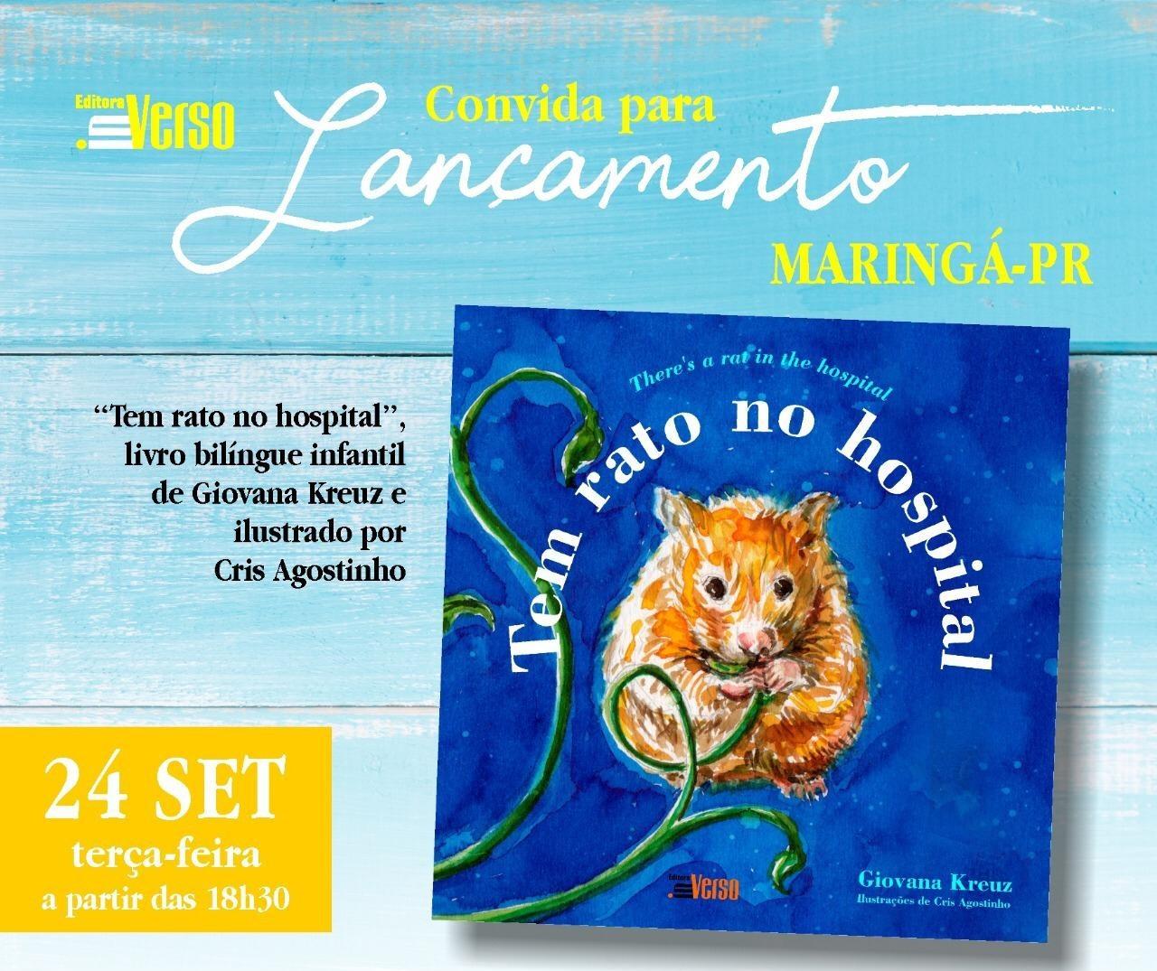 Livro bilíngue é lançado em Maringá