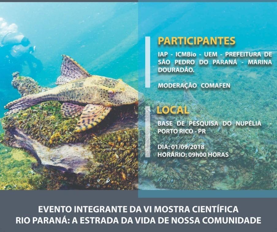 Evento debate soluções para salvar o Rio Paraná