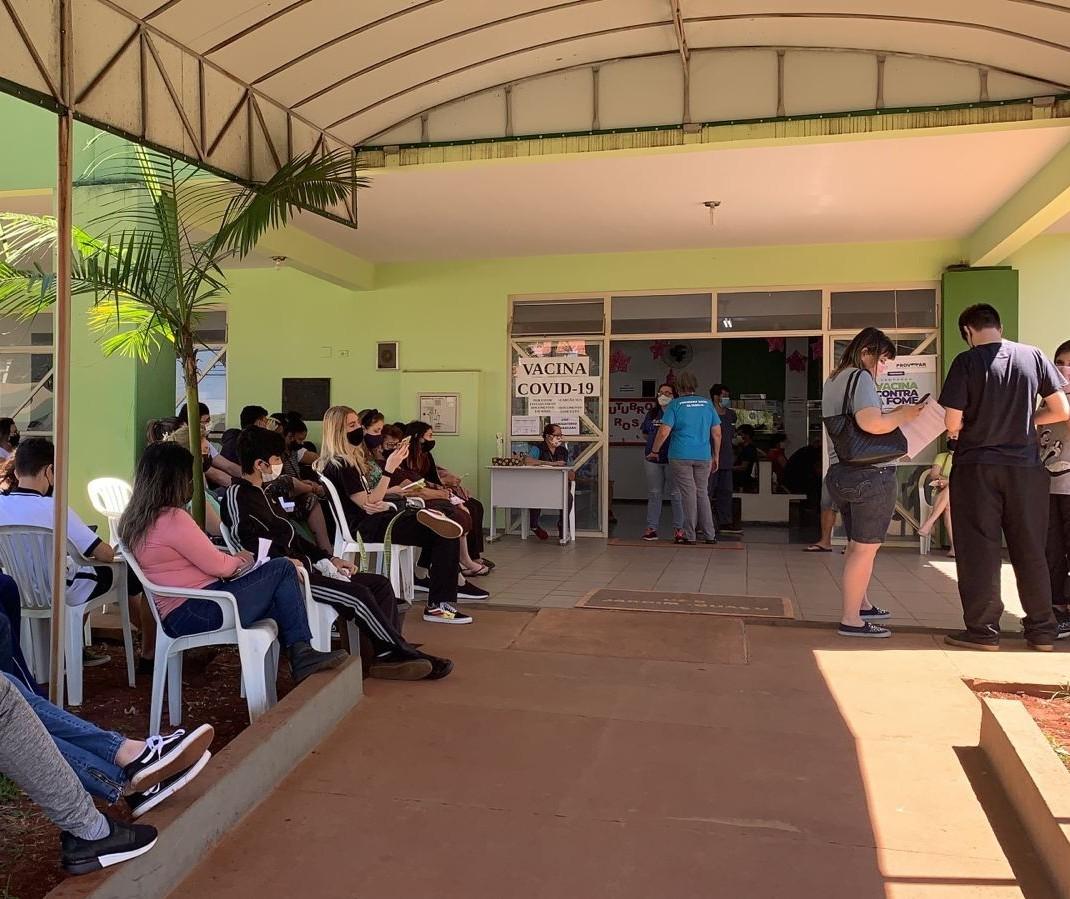 Confira como está a vacinação de adolescentes de 15 a 17 anos em Maringá