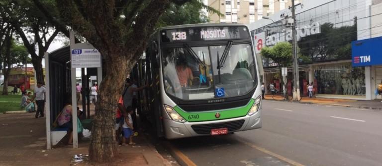 Atenção: não haverá transporte coletivo no fim de semana em Maringá