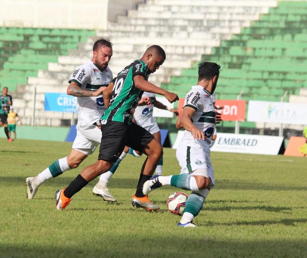 Maringá FC é derrotado pelo Coritiba na segunda rodada do Paranaense