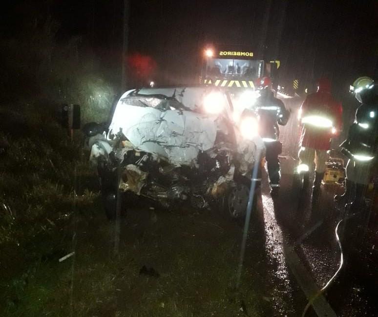 Duas pessoas morrem em acidente na PR-218, em Paranavaí