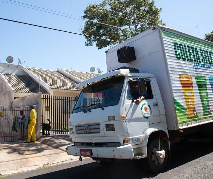 Suspensa por poucos dias, coleta seletiva retorna em Maringá