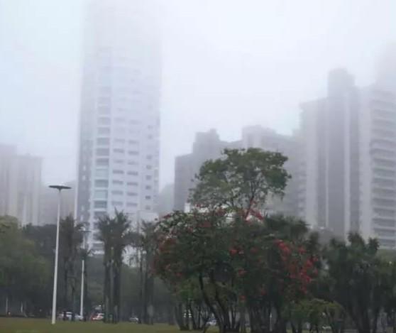 No dia mais frio do ano, Maringá registra 1,7°C e sensação térmica negativa