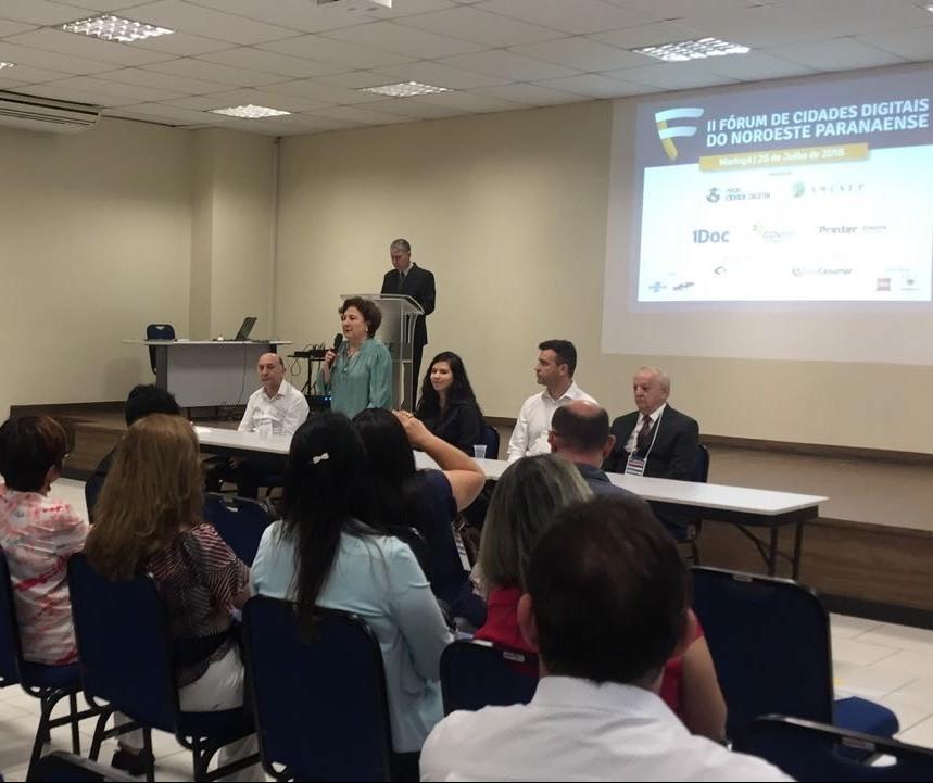Fórum apresenta soluções adotadas em municípios do noroeste