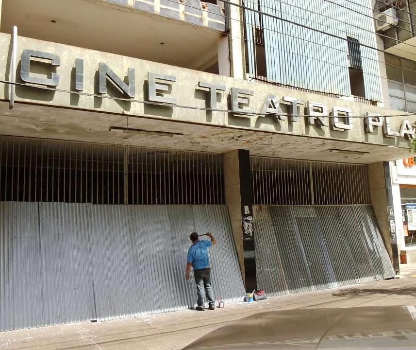 Prédio onde fica o Cine Teatro Plaza é declarado de utilidade pública