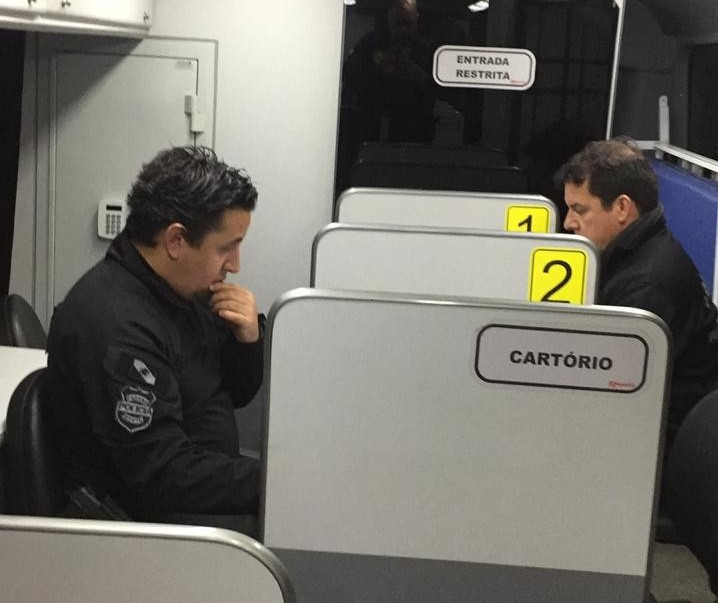 Delegacia Móvel da Polícia Civil está na Expoingá