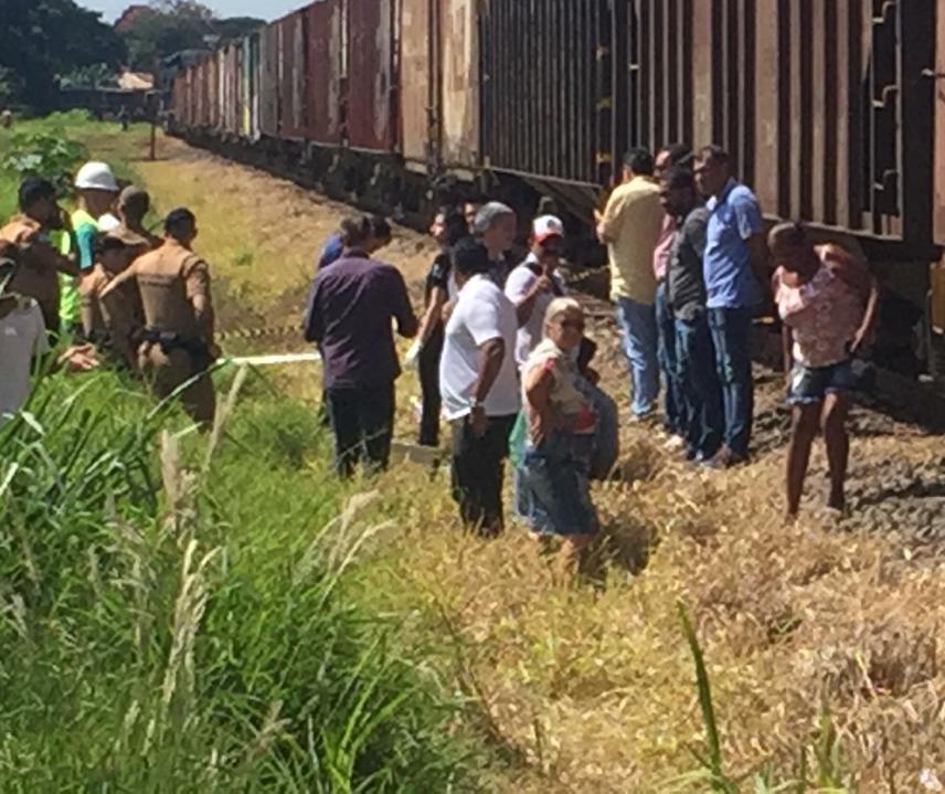 Idoso morre atropelado por trem em Sarandi