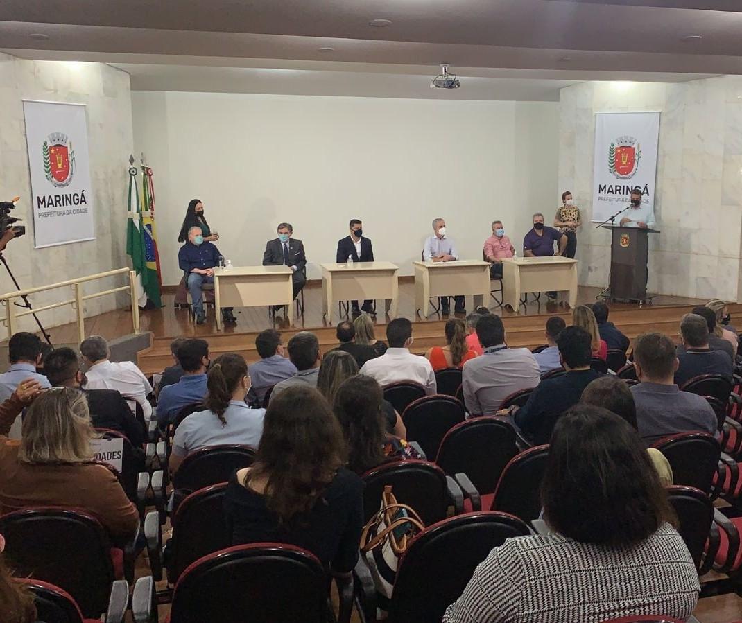 Maringá recebe a 'Caravana da Tecnologia', do Governo do Paraná