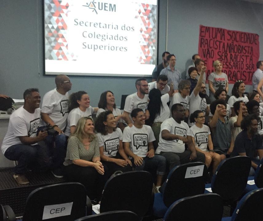 UEM aprova cotas raciais