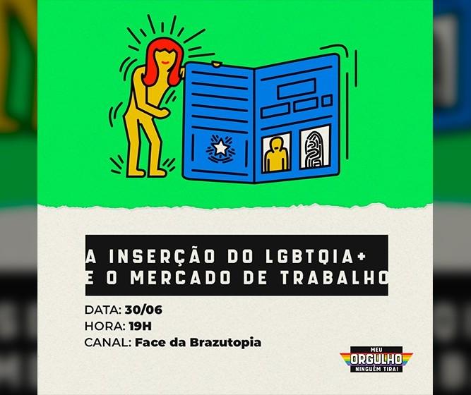 Mercado de trabalho é tema de live organizada pela comunidade LGBTQIA+ em Maringá