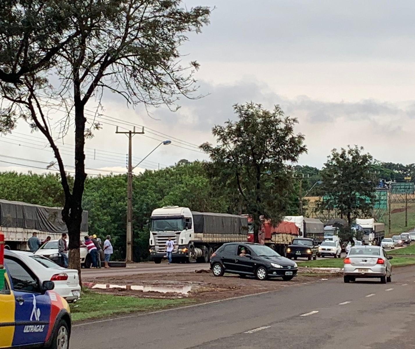 PRE atualiza sobre bloqueios em rodovias da região