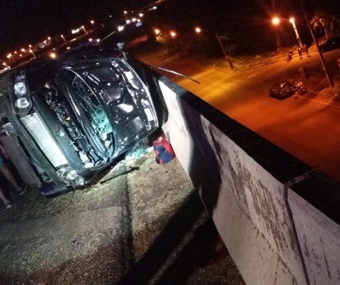Motorista morre ao ser ejetado de veículo em acidente no Contorno Norte