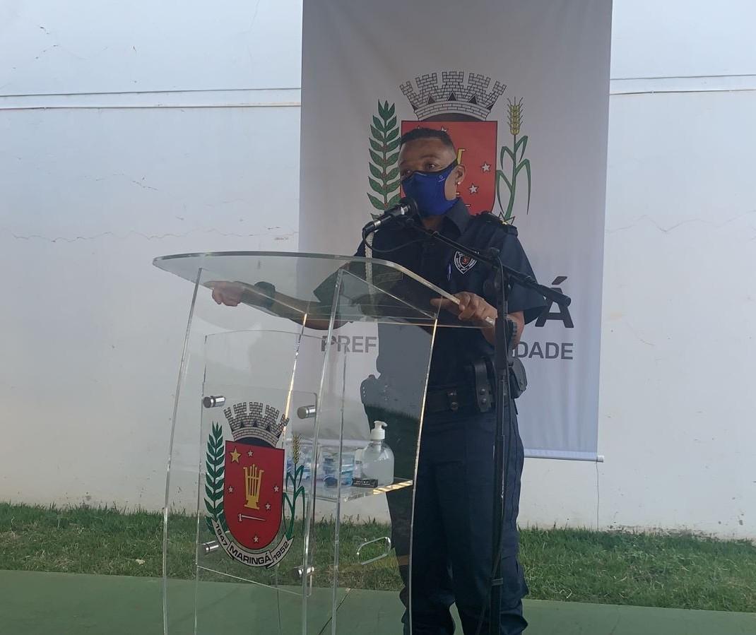 Primeira mulher a assumir comando da Guarda Civil de Maringá toma posse