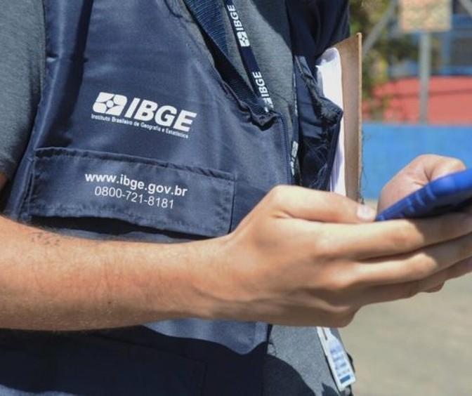 IBGE contrata para Censo Demográfico de 2021