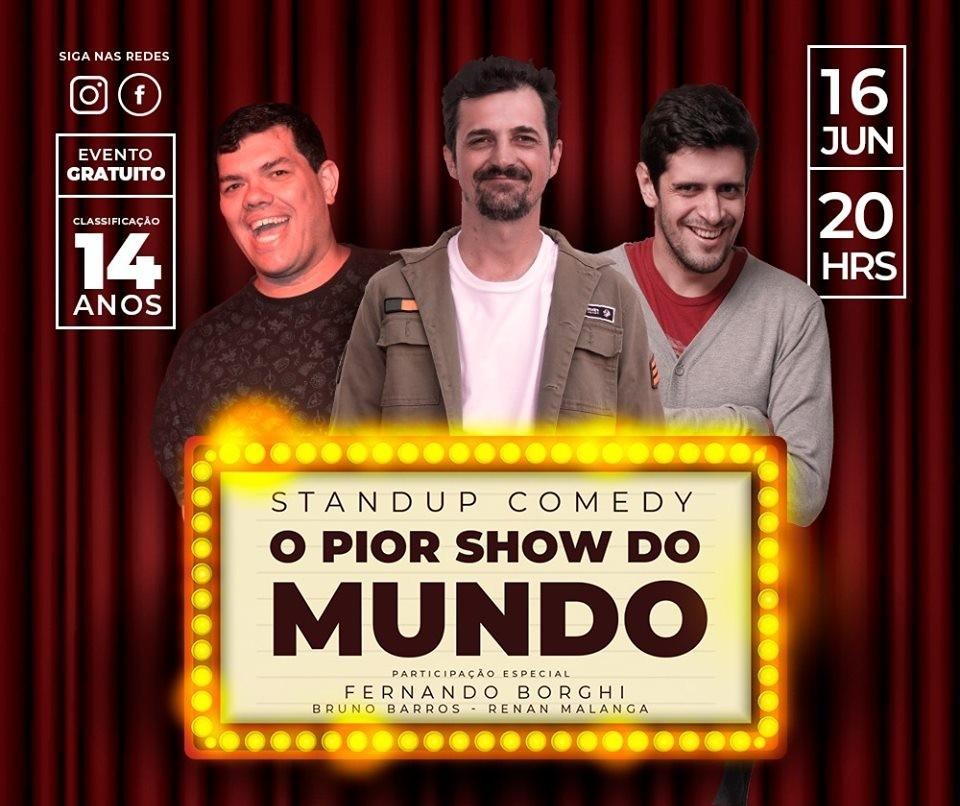 'O Pior Show do Mundo' será nesse domingo (16)
