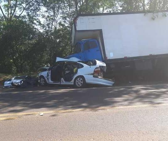 Motorista de Maringá morre em acidente na PR-323, em Umuarama