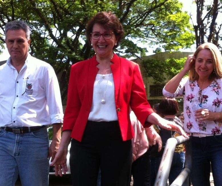 Secretária de Educação do Paraná cumpre agenda em Maringá
