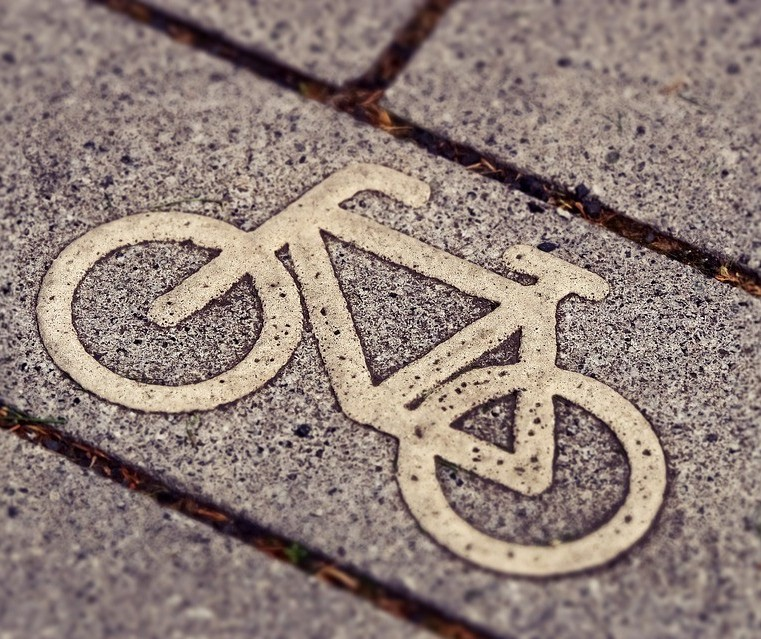 O ciclista merece respeito