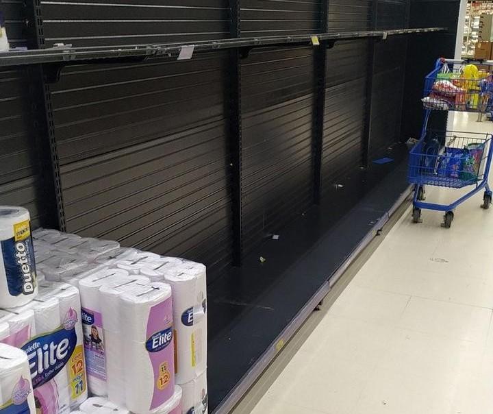 Coronavírus esvazia prateleiras em supermercados, mas não há crise de desabastecimento