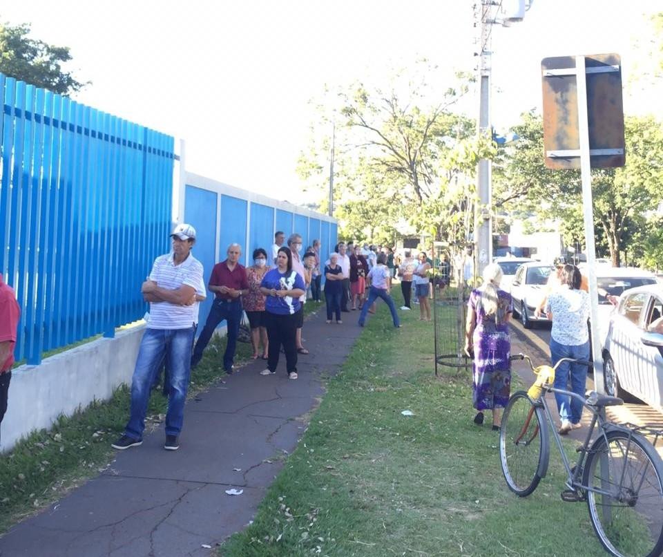 Vacinas contra gripe acabaram em Maringá
