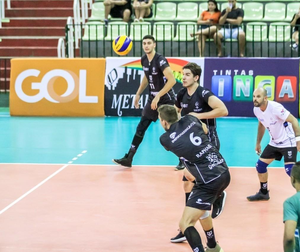 Denk Maringá perde para o América Vôlei por 3 sets a 2