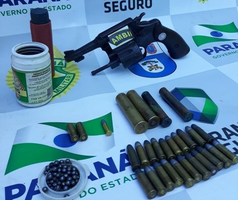 Homem é detido em Umuarama por caça ilegal
