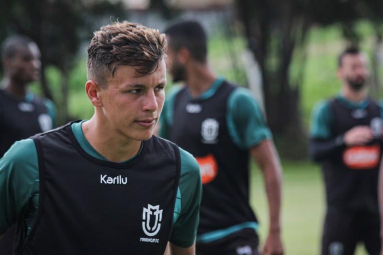 Maringá FC acerta empréstimo do atacante Matheus Moraes junto ao Santos
