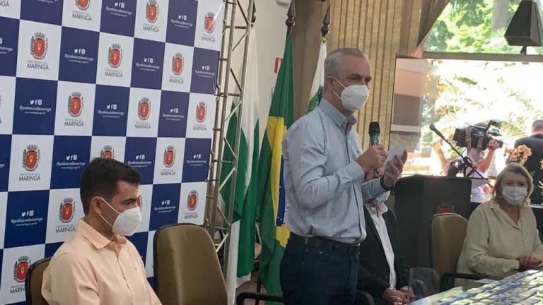 Maringá vai rescindir o contrato com a Sudamed, afirma prefeito