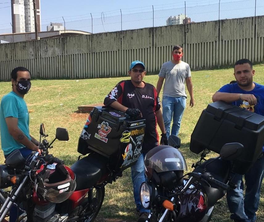 Motoboys organizam manifestação contra preço de combustíveis