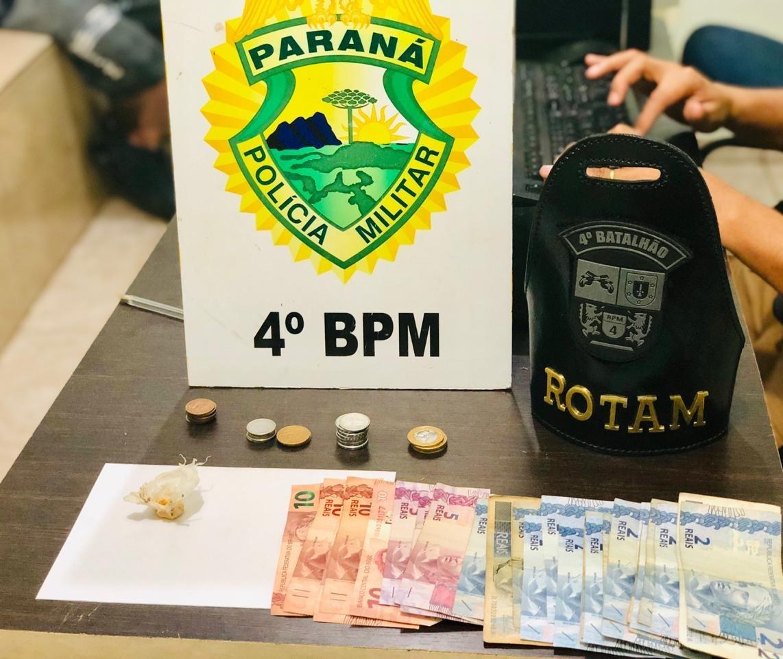 Adolescente de 15 anos é apreendido por tráfico de drogas