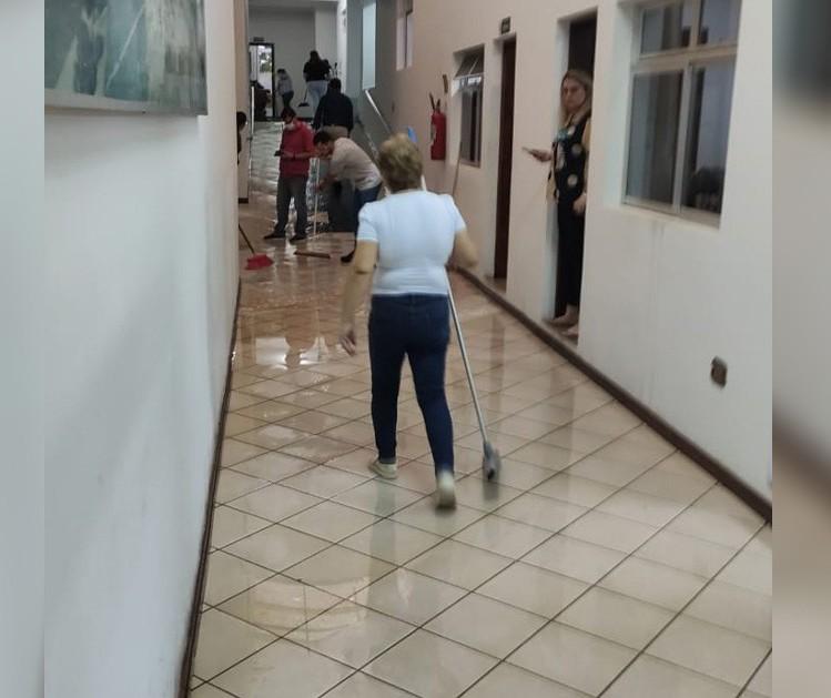 Em estado de emergência, Jandaia do Sul é atingida mais uma vez por temporal