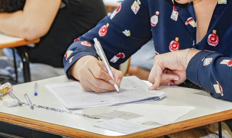 63 candidatos faltaram ao segundo dia de provas do Vestibular da UEM
