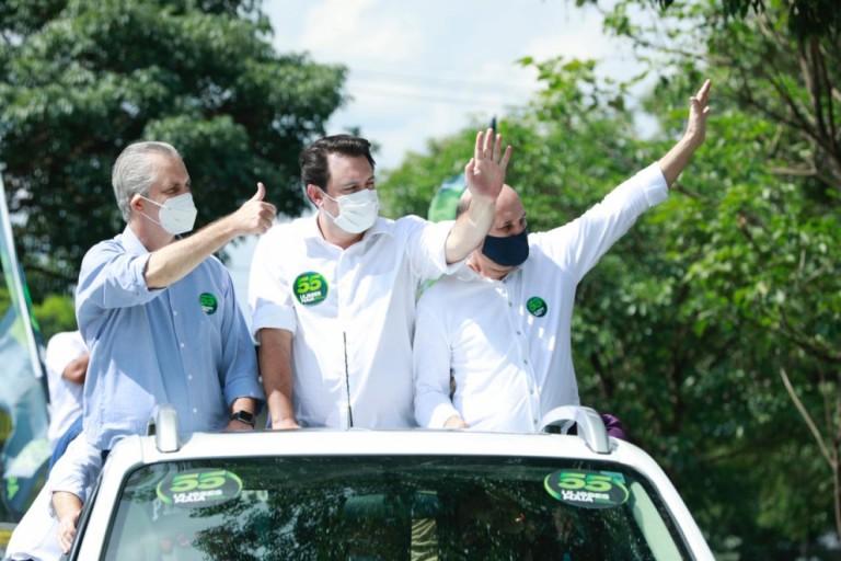 Governador Ratinho Junior vem a Maringá fazer campanha para prefeito