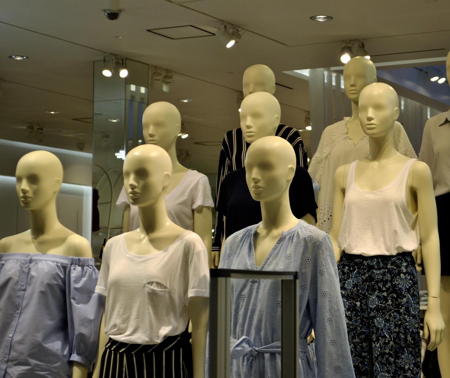 A retomada das lojas ligadas à moda