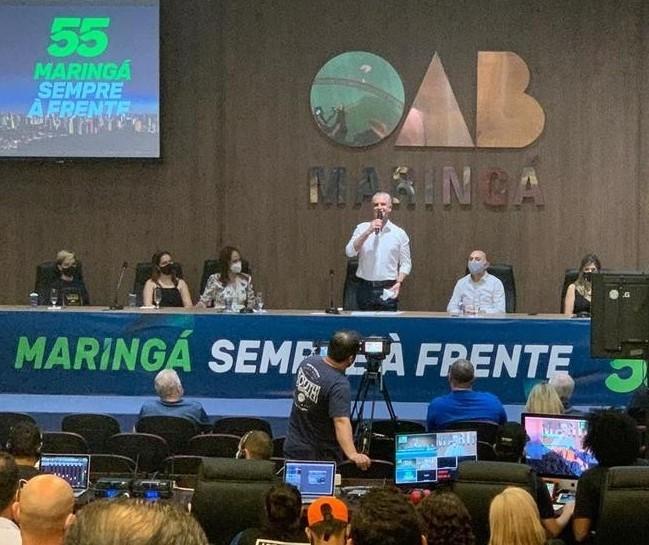 PSD oficializa Ulisses Maia como candidato à reeleição em Maringá