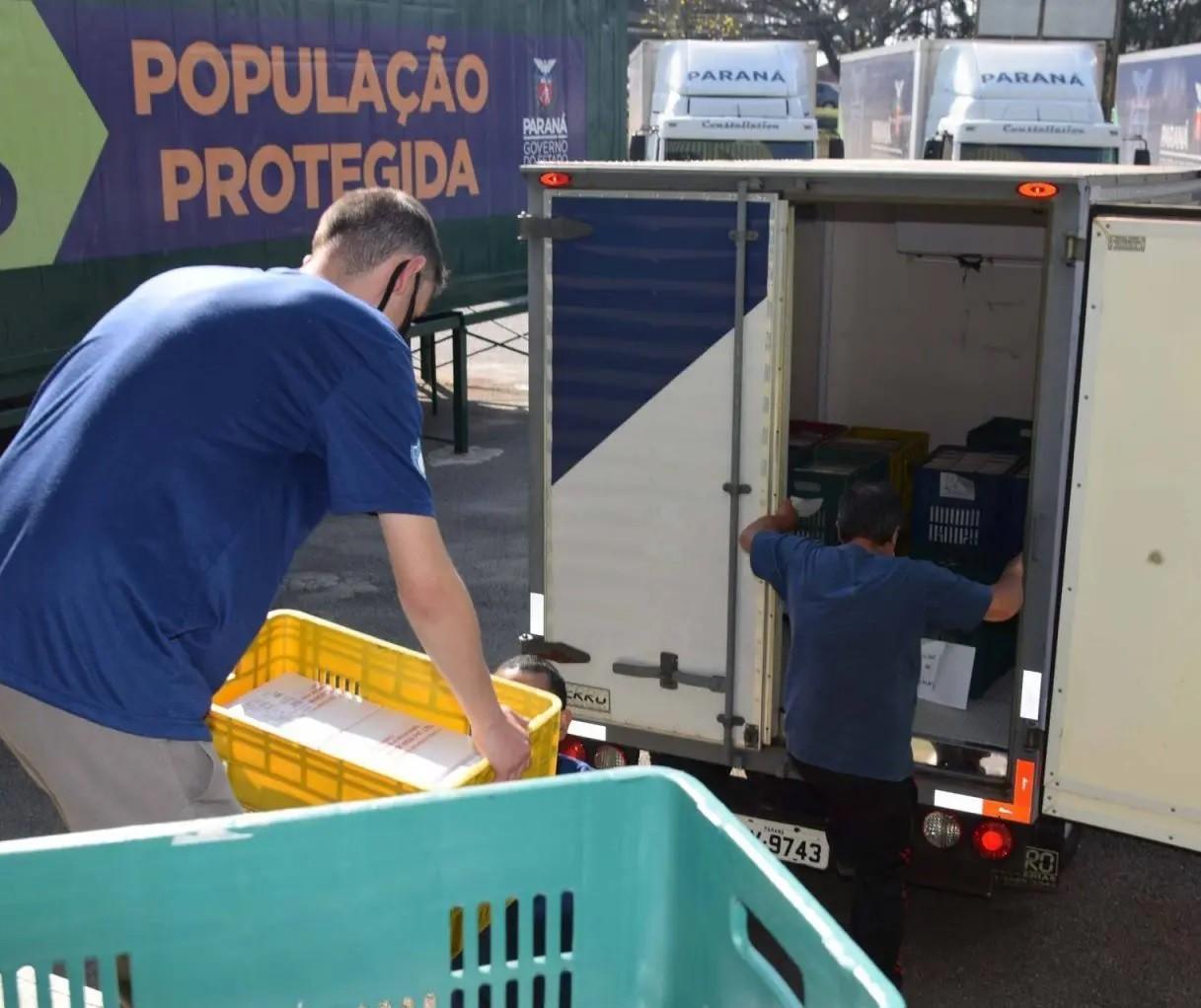 Covid-19: Regional de Saúde de Maringá recebe mais de 35 mil doses de vacina em nova remessa, diz Sesa
