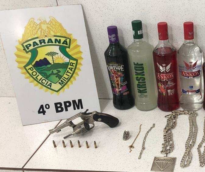 Preso suspeito de vários roubos, incluindo malote com R$ 50 mil