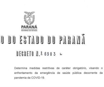 Confira quais atividades podem funcionar no Paraná durante o lockdown